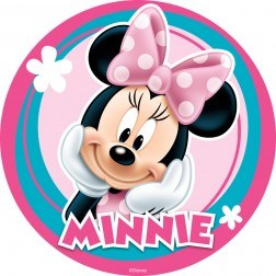 Minnie Mouse Edible Image