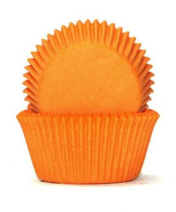 Orange Baking Cups - Pkt of 100