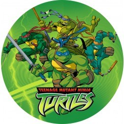 Teenage Mutant Ninja Turtles Edible Image