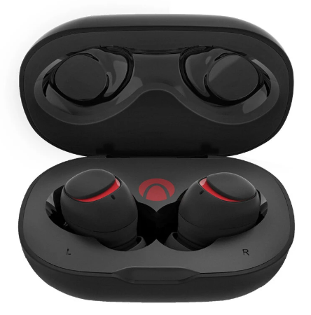 Cool Cornelius™ Mini True Wireless bluetooth 5.0 Earphones Hi-Fi Stereo Headphone with Charging Case - Black AIRAUX AA-UM1