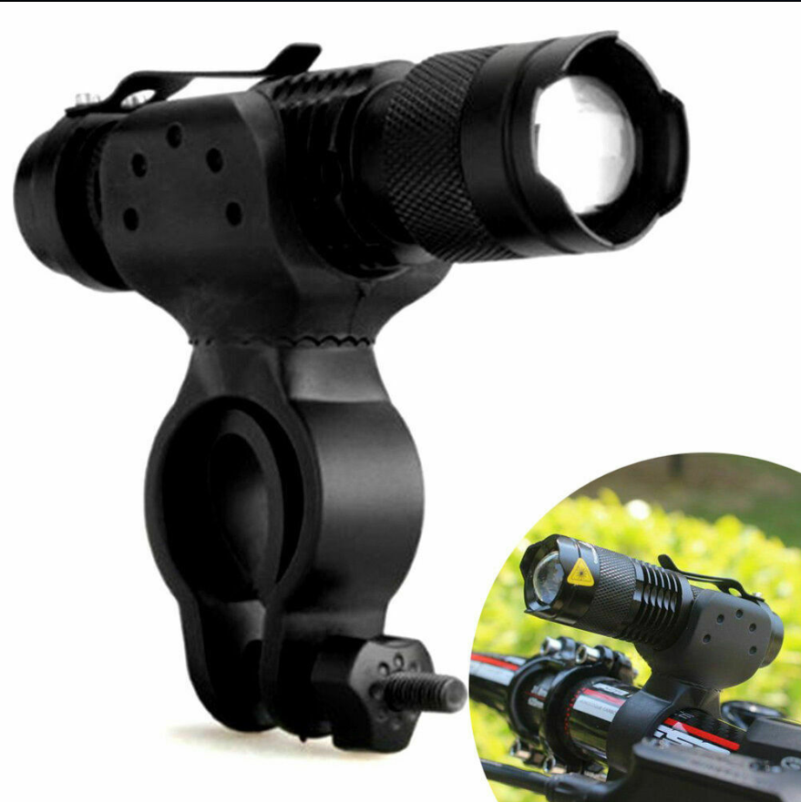 Cool Cornelius™ Cycling Bike Bicycle Head Light 10000lm LED  Flashlight 360°Mount Clip MT