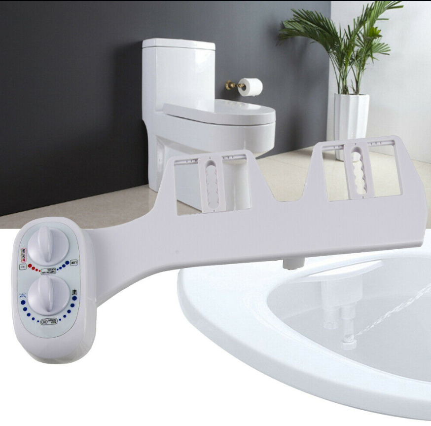 Cool Cornelius™ Bidet Toilet Seat with Hot Cold Fresh Water, Self-cleaning Retractable