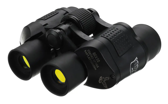 Cool Cornelius™ Binocular, 60x60, Outdoor Tactical,  HD Optic Night Vision, with 3000M Telescope