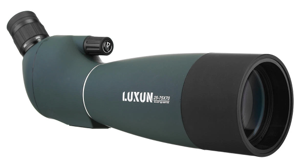 Cool Cornelius™ HD Waterproof BAK4 Optic Zoom Lens, HD, 25-75X70 TELESCOPE by LUXUN,