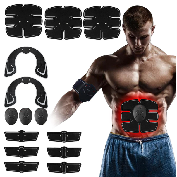Cool Cornelius™  Muscle Training Gear 14pcs Hip Buttocks Lifting ABS Fitness Exercise Hip Trainer Stimulator