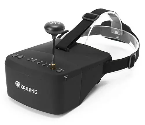 Cool Cornelius™ FPV Goggles EV800 5 Inches 800x480 5.8G 40CH Raceband Auto-Searching w/Built-in Battery