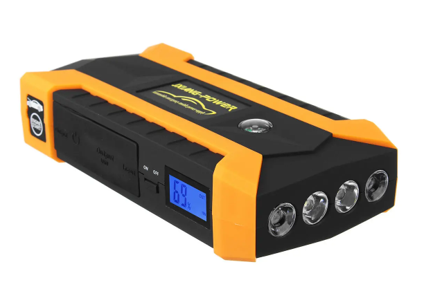 Cool Cornelius™ Car Jump Start Starter 16000mAh LED  4 USB  Charger Battery Power Bank Booster