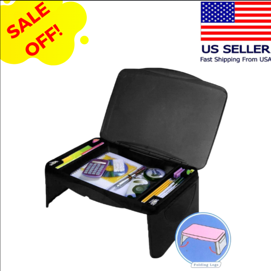 Cool Cornelius™ Plastic Laptop Desk Adjustable Portable  Folding Tablet Lap Tray Bed Stand Table