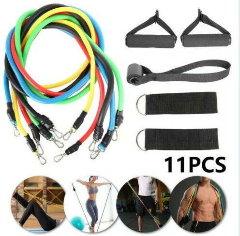 Cool Cornelius™ Strength Training Resistance Band  Exercise Set Work Out At Home  from USA