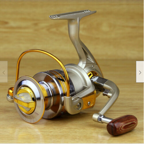 Cool Cornelius™ Spinning Reel Saltwater Freshwater Fishing 12BB Ball Bearing 5.5:1 EF1000-7000