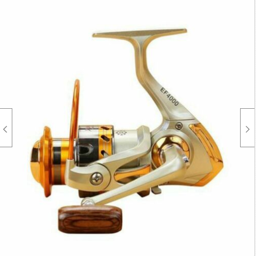 Cool Cornelius™ Fishing Spinning Reel Saltwater Freshwater 12BB Ball Bearing 5.5:1 EF1000-7000