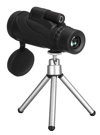 Cool Cornelius™Telephoto Zoom Lens Monocular Night Vision + Tripod 40x60 For Cell Phone