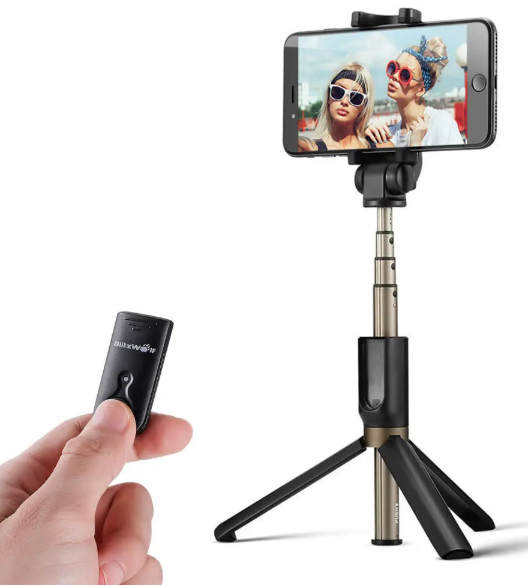 Cool Cornelius™ Best Selfie Stick 3-in-1 Bluetooth Tripod Selfie Stick, Versatile iOS & Android