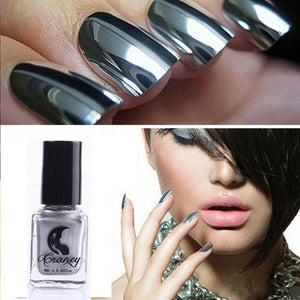 Metallicail™ : Metallic Chrome Mirror Nail Polish - PowerBeauty
