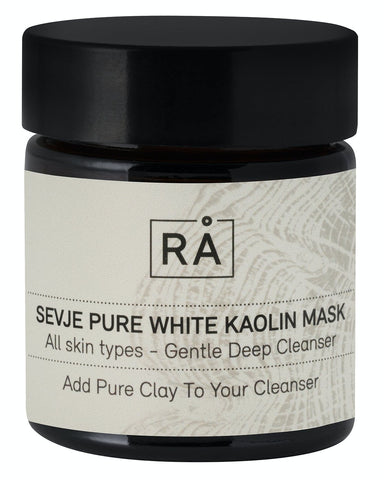 Sevje pure white kaolin mask