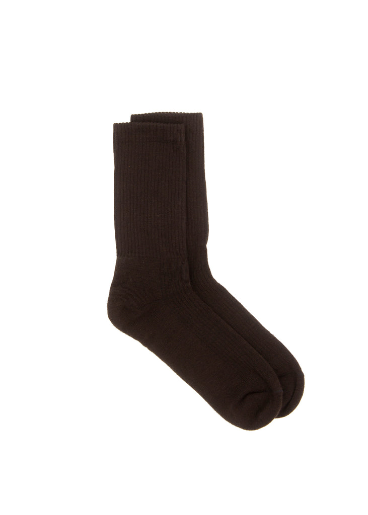 Wool Socks - Brown