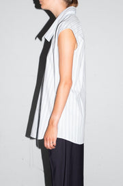 Sleeveless Shirt - Stripe