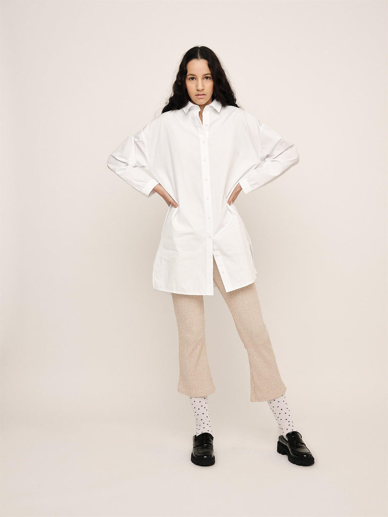 Jamie Long Shirt - Optical White
