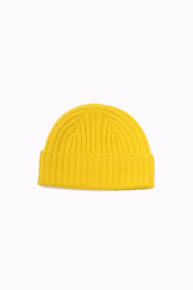 Calluna Cashmere Hat - Yellow