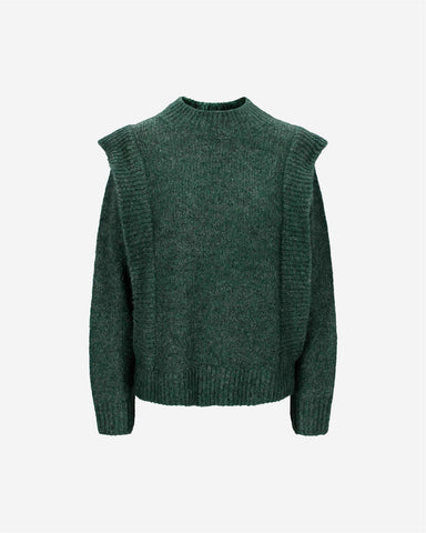Tuck Sweater - Whistle Green