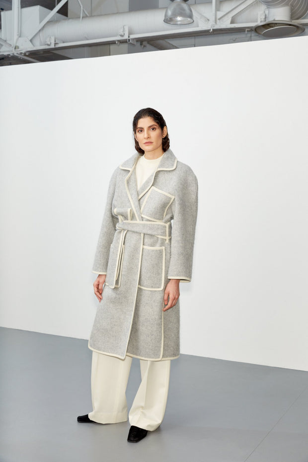 Apprentice Longcoat - Light Grey