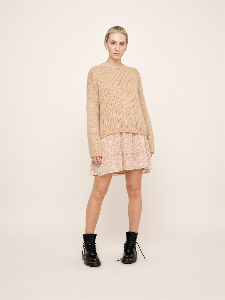 Filippa Sweater - Iced Coffee