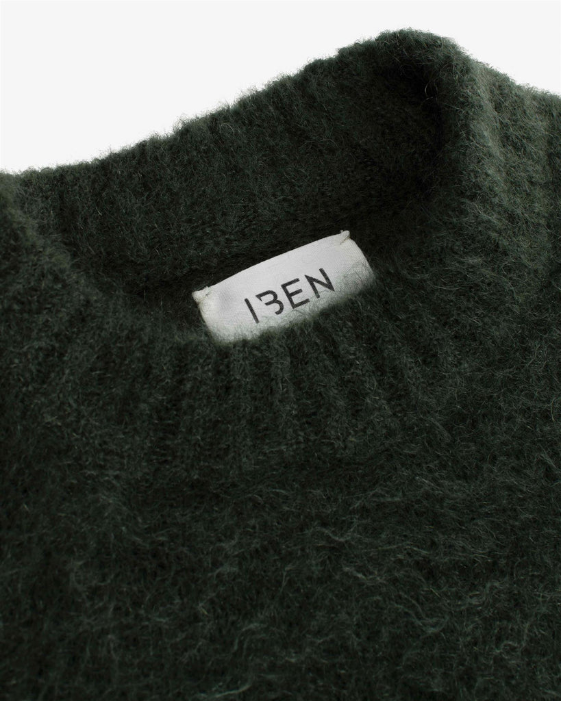Monty Sweater - Forest Green