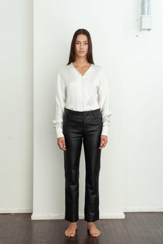 Cannes Blouse - White