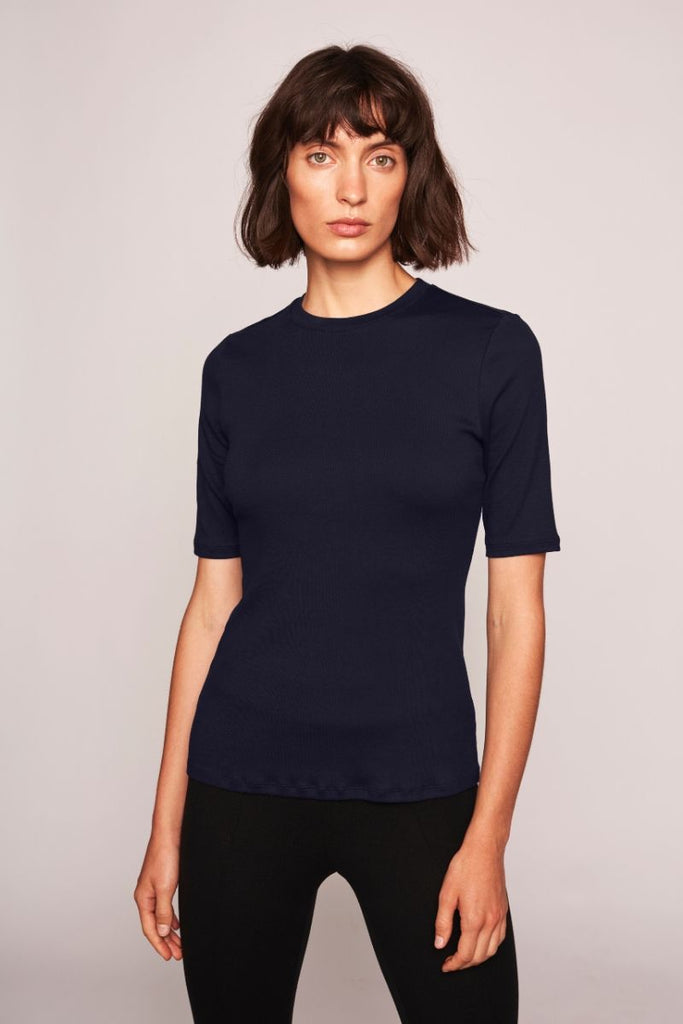 Marianne T-Shirt - Navy - F5 Concept Store