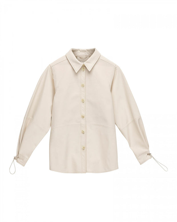 Stephan Shirt - Frosted White