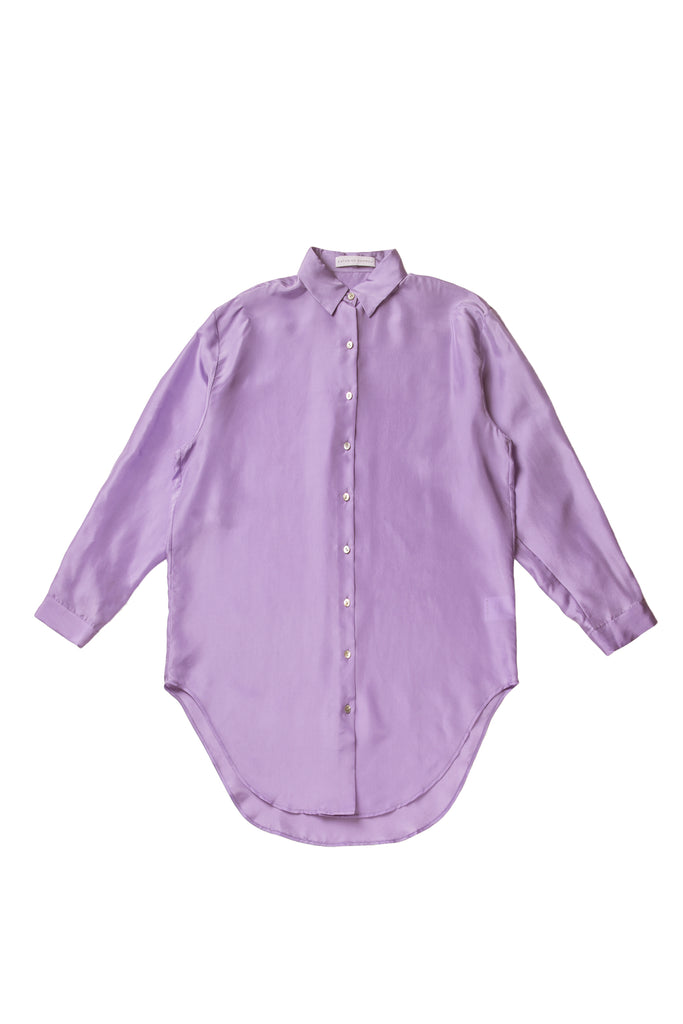 Silk Onesized Shirt - Lilac - F5 Concept Store
