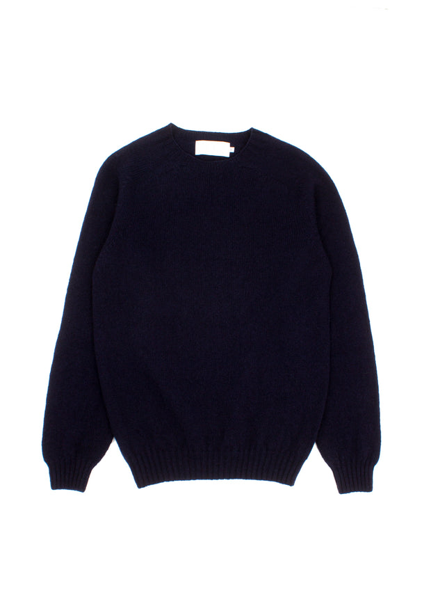 Brodie O - Neck Sweater - New Navy