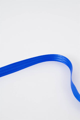Long Seatbelt Belt - Blue