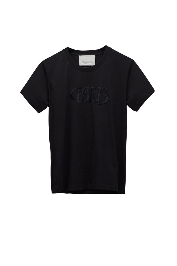 Paris T-Shirt - Black