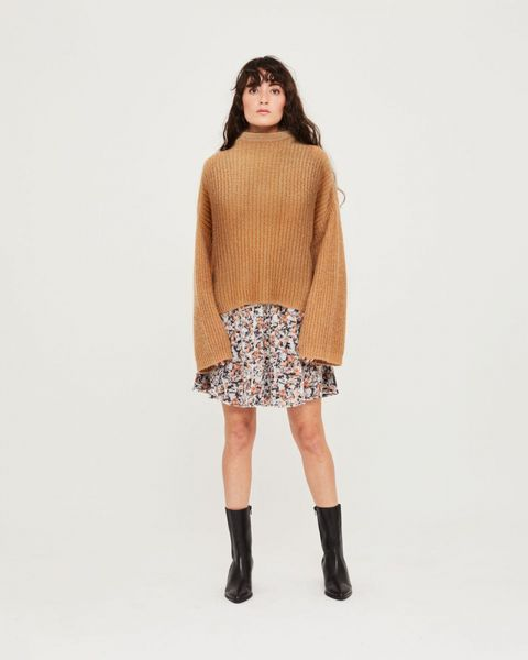 Florie Rollneck Sweater - Glazed Ginger