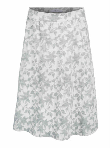 Hanneli Skirt - Hedge Green Print