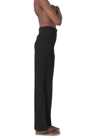 High Waist Pants - Black