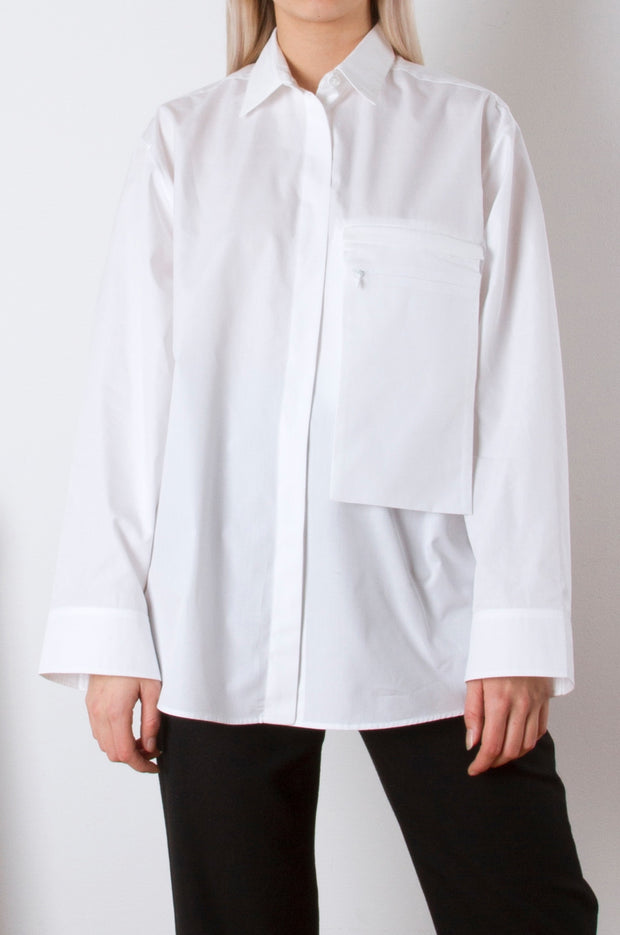 Pocket Shirt - White