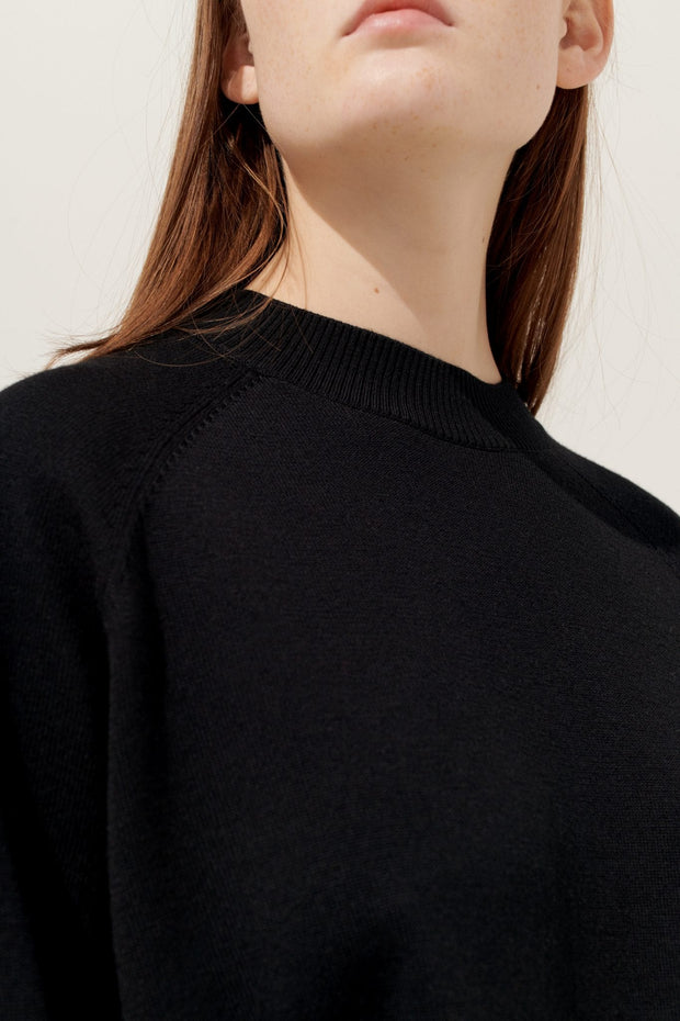 Mina Knit Sweater - Black - F5 Concept Store
