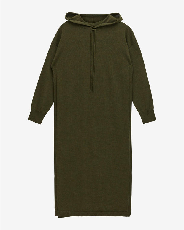 Mac Hoodie Dress - Forest