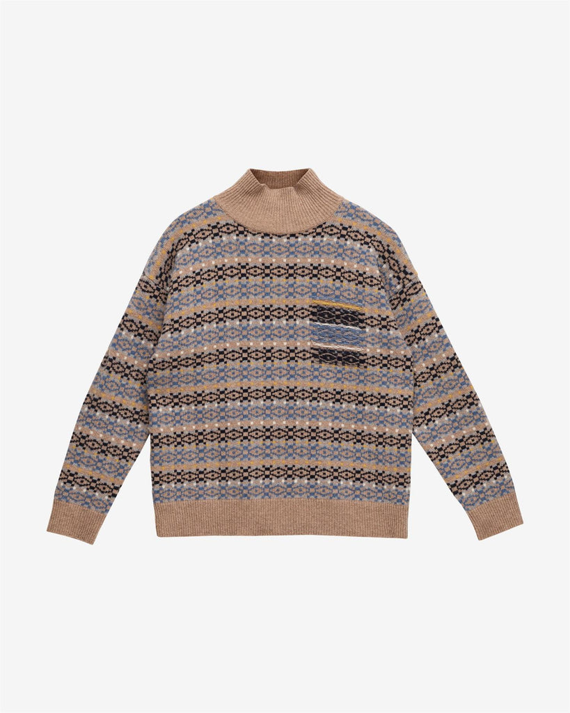 Ean Sweater - Blue Mirage