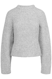 Seoul Knit Sweater - Grey