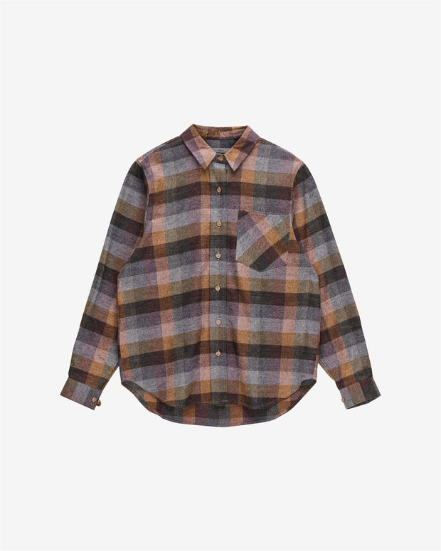 Sion Shirt - Chocolate