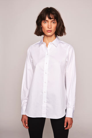 Sofie Boyfriend Shirt  New- White