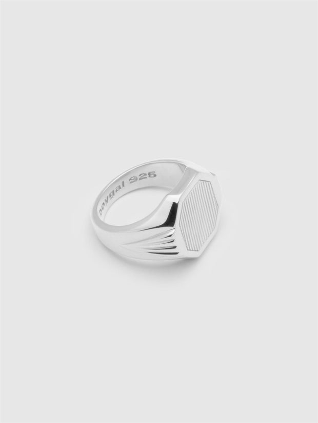 Grand Signet Ring - Silver