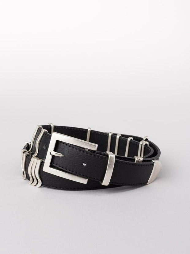 Rattle Belt - Black/Silver - F5 Concept Store