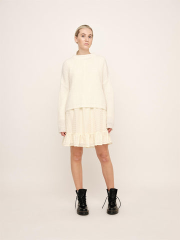 Florie Rollneck Sweater - Off White