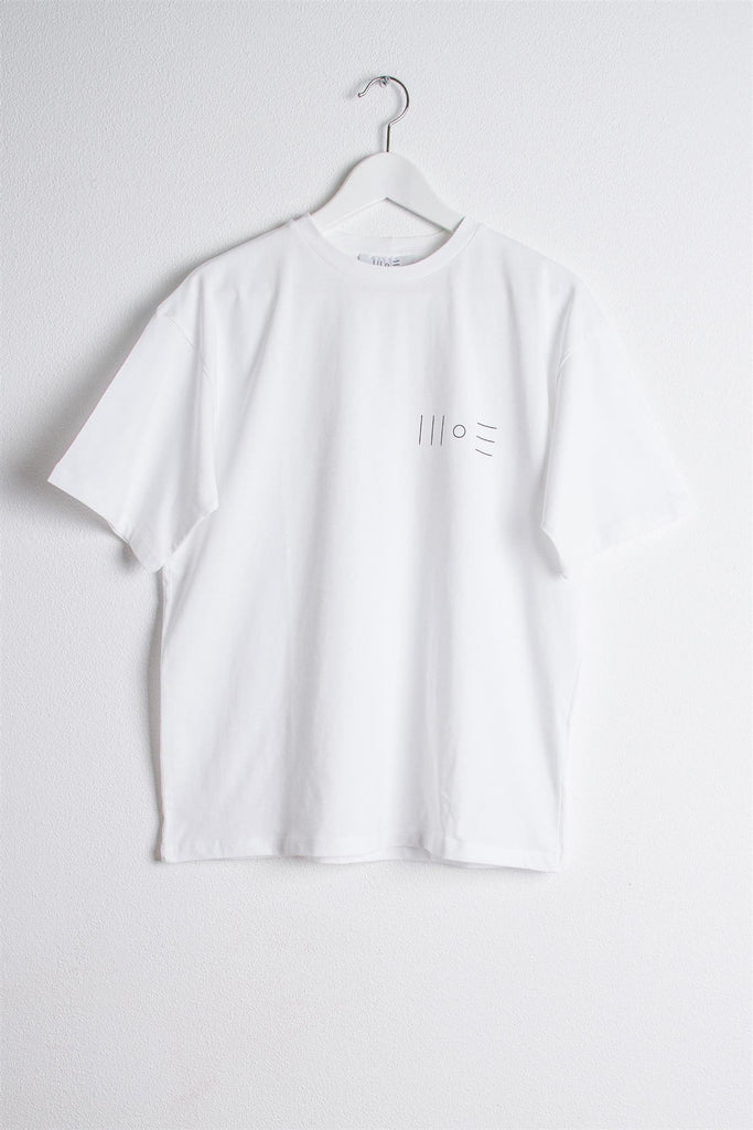 Chest Logo T-Shirt - White