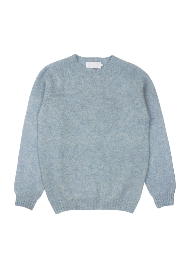 Brodie O - Neck Sweater - Powder Blue