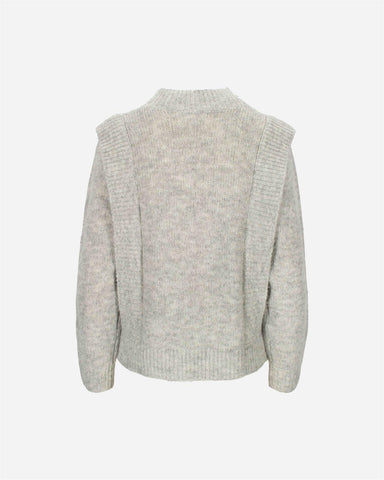 Tuck Sweater - Flint Grey